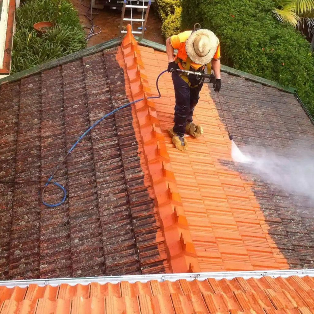 power washing, roof cleaning